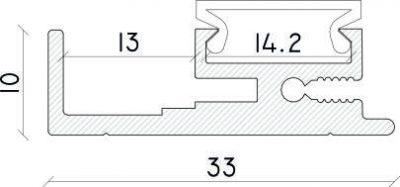 misure profilo led speciale lucas