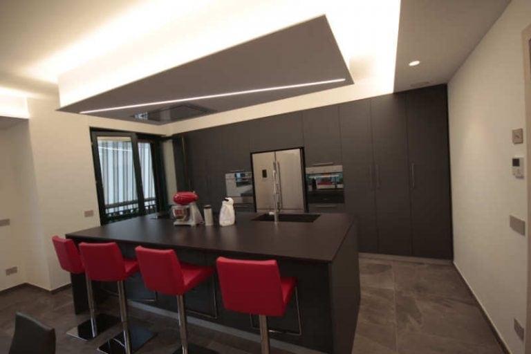 progettazione illuminotecnica per interni