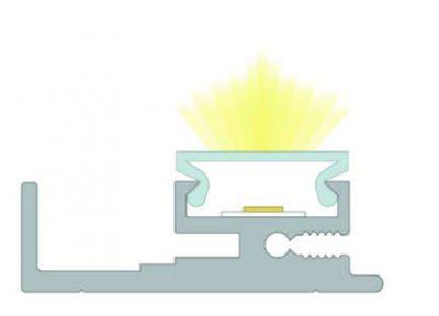 sezione profilo led speciale lucas