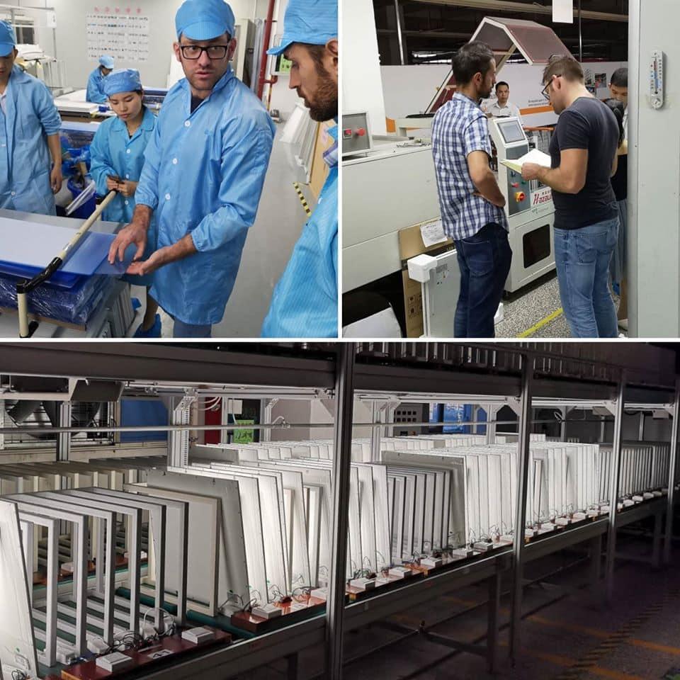 testiamo la qualità dei led made in china